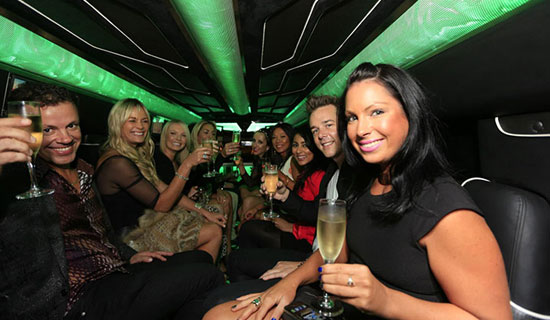 Wolverhampton party bus limo hire
